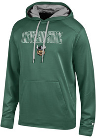 Cleveland State Vikings Champion Athletic Fleece Hood - Green