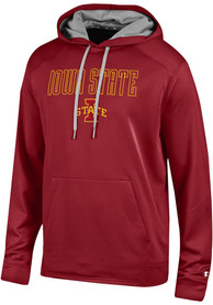 Iowa State Cyclones Champion Athletic Fleece Hood - Cardinal