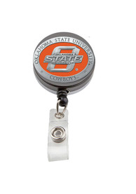 Oklahoma State Cowboys Stainless Steel Badge Holder