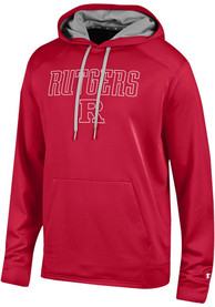 Rutgers Scarlet Knights Champion Athletic Fleece Hood - Red