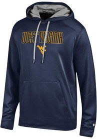 West Virginia Mountaineers Champion Athletic Fleece Hood - Navy Blue
