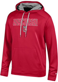 Wisconsin Badgers Champion Athletic Fleece Hood - Red