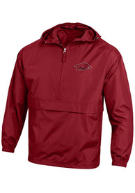 aea8b749 Champion Arkansas Razorbacks Cardinal Primary Logo Light Weight Jacket