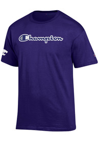 Champion K-State Wildcats Purple Co Branded Tee