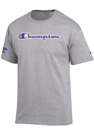 Champion K-State Wildcats Grey Co Branded Tee
