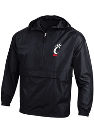 Cincinnati Bearcats Champion Primary Logo Light Weight Jacket - Black