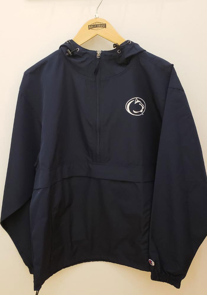 Champion Penn State Nittany Lions Mens Navy Blue Primary Logo Light Weight Jacket - Image 2