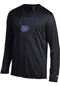 Champion K-State Wildcats Black Athletic Long Sleeve Tee Tee