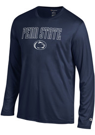 Champion Penn State Nittany Lions Navy Blue Athletic Long Sleeve Tee Tee
