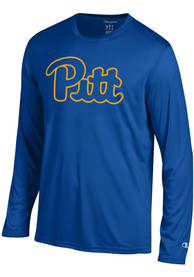 a36c4594201e Champion Pitt Panthers Blue Athletic Long Sleeve Tee Tee