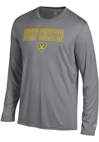 Champion West Chester Golden Rams Grey Athletic Long Sleeve Tee Tee