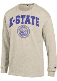 Champion K-State Wildcats Oatmeal Official Seal Tee