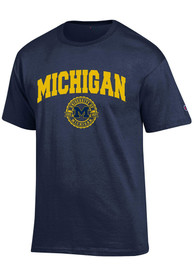 Champion Michigan Wolverines Navy Blue Official Seal Tee