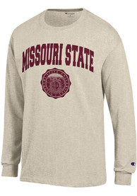 Champion Missouri State Bears Oatmeal Official Seal Tee