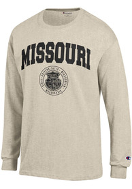Champion Missouri Tigers Oatmeal Official Seal Tee