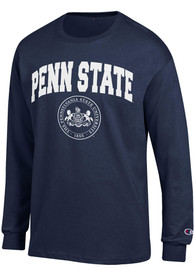 Champion Penn State Nittany Lions Navy Blue Official Seal Tee