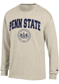 Champion Penn State Nittany Lions Oatmeal Official Seal Tee