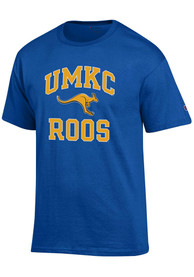 UMKC Roos Champion Number One T Shirt - Blue