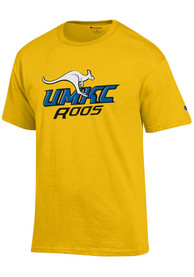 UMKC Roos Champion Primary T Shirt - Gold