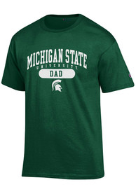 Champion Michigan State Spartans Green Dad Tee
