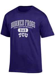 Champion TCU Horned Frogs Purple Dad Tee
