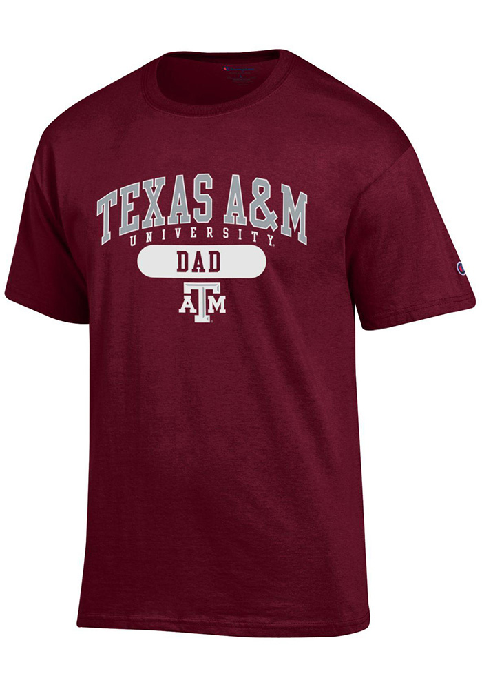 Champion Texas A&M Aggies Maroon Dad Tee