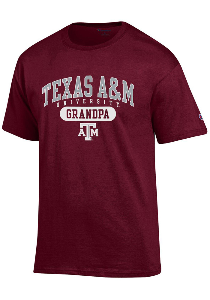 Champion Texas A&M Aggies Maroon Grandpa Tee