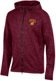 Central Michigan Chippewas Champion Spark Zip - Maroon