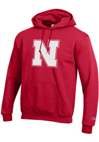 Nebraska Cornhuskers Champion Big Logo Hooded Sweatshirt - Red
