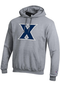 Xavier Musketeers Champion Big Logo Hooded Sweatshirt - Grey