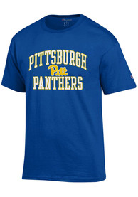Pitt Panthers Champion Number One T Shirt - Blue