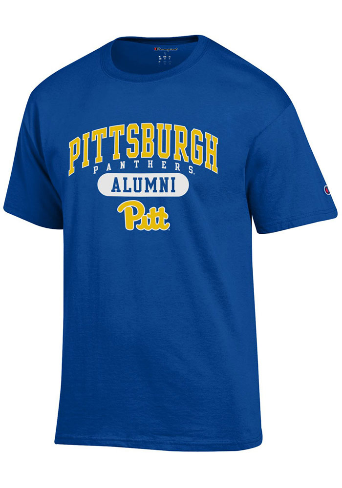 Champion Pitt Panthers Blue Alumni Short Sleeve T Shirt - Image 1