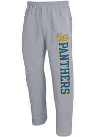 Pitt Panthers Champion Logo Sweatpants - Grey