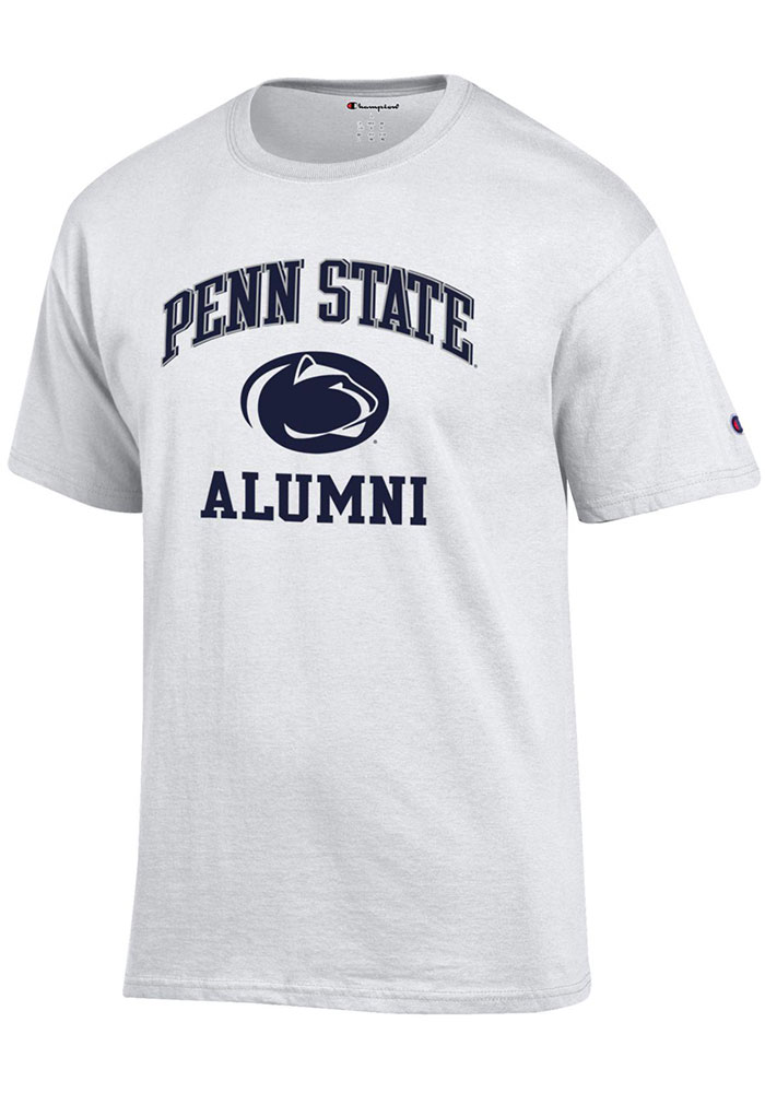 Penn State Nittany Lions Champion Alumni Number One Design T Shirt - White