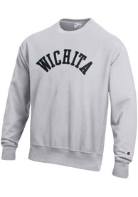 Wichita Wordmark Crew Sweatshirt - Grey