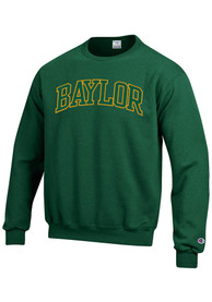 Baylor Bears Champion Arch Tackle Crew Sweatshirt - Green