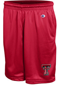 Texas Tech Red Raiders Champion Mesh Shorts - Red