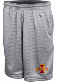 Iowa State Cyclones Champion Mesh Shorts - Grey