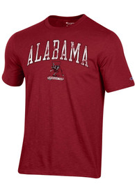 Alabama Crimson Tide Champion Arch Mascot Fashion T Shirt - Crimson