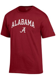 Alabama Crimson Tide Champion Arch Mascot T Shirt - Crimson