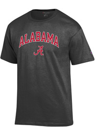 Alabama Crimson Tide Champion Arch Mascot T Shirt - Charcoal