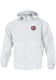 Texas A&M Aggies Champion Primary Logo Packable Light Weight Jacket - White