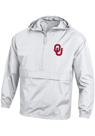 Oklahoma Sooners Champion Primary Logo Packable Light Weight Jacket - White