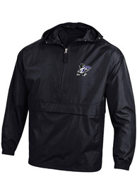 K-State Wildcats Champion Willie Logo Packable Light Weight Jacket - Black