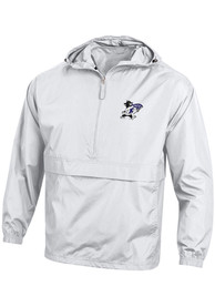 K-State Wildcats Champion Willie Logo Packable Light Weight Jacket - White