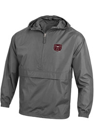 Missouri State Bears Champion Primary Logo Packable Light Weight Jacket - Grey