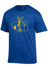UMKC Roos Champion Roo T Shirt - Blue
