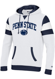Penn State Nittany Lions Champion Super Fan Pullover Hooded Sweatshirt - White
