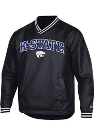 K-State Wildcats Champion Super Fan Scout Pullover Jackets - Black
