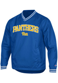 Pitt Panthers Champion Super Fan Scout Pullover Jackets - Blue